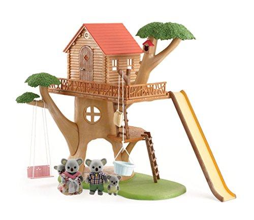Calico Critters Tree House with Koala Family Set