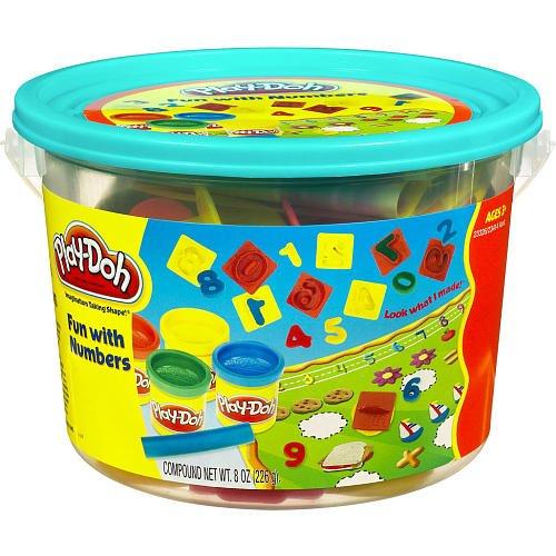 Play-Doh - Mini Fun with Numbers Bucket