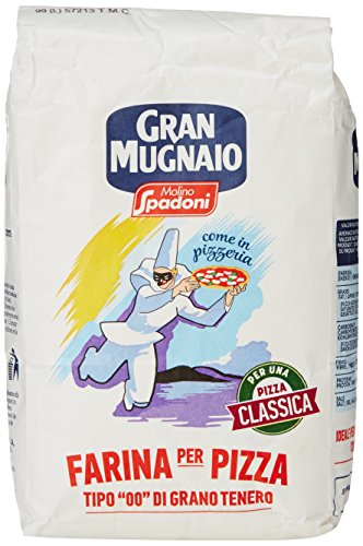 """Spadoni Farina """"00"""" Per Pizza Gr.1000"""