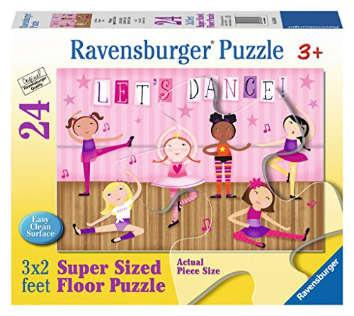 Let's Dance Floor Puzzle, 24-Piece