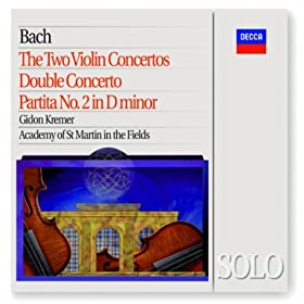J.S. Bach: Partita for Violin Solo No.2 in D minor, BWV 1004 - 4. Giga