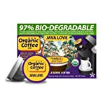 The Organic Coffee Co. Java Love, 36 OneCup Single Serve Cups