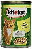 Kitekat Katzenfutter Huhn in Soße, 12 Dosen (12 x 400 g)