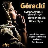 Gorecki Symphony No. 3; Three Pieces In
