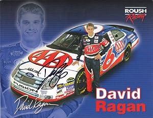 Buy Autographed David Ragan #6 AAA NASCAR Hero Driver Card