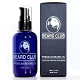 51ugj0aYVUL. SL160  Beard Club's Premium Beard Oil (100ml)   100% Natural Deep Facial Hair Conditioning and Softening