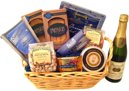 Holiday Elegance Gift Basket
