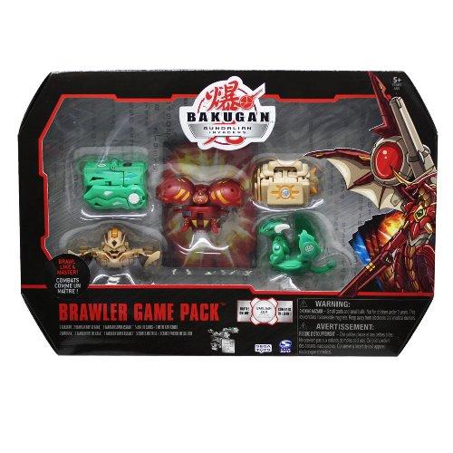 Imagen principal de Spin Master 6014687 Bakugan Gundalian Invaders Brawler - Set de combate con figuras y cartas [Importado de Alemania]