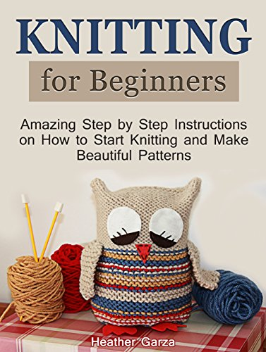 Knitting Patterns For Beginners Step By Step : Machine Knitting Patterns