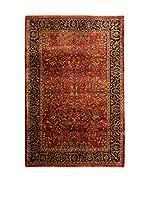 QURAMA Alfombra Sarouk Rojo/Multicolor 177 x 122 cm