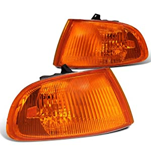 Honda Civic Dx Ex Lx 2/3Dr Signal Corner Lights Amber