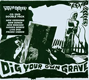 Test Icicles Dig Your Own Grave Cd Dvd Amazon Com Music