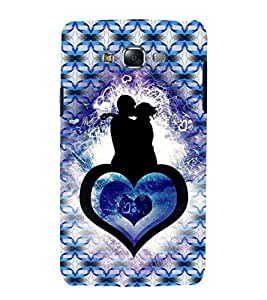 iFasho couple kissing Back Case Cover for Samsung Galaxy J7