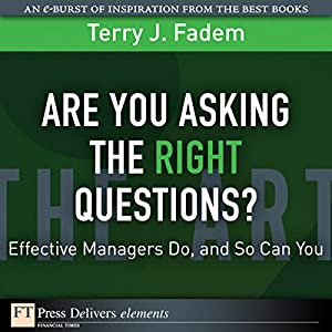 Are You Asking the Right Questions Audiobook