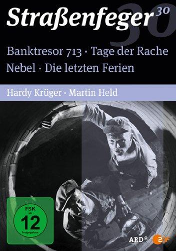 Straßenfeger 30 - Banktresor 713 / Tage der Rache / Nebel / Die letzten Ferien [4 DVDs]
