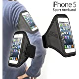 iPhone 5s 5 5c Armband Sports Gym Jogging Running Armband Case Cover Phone Holder For iPhone 5/5S/5C - Exclusively designed for Your Outdoor Activities