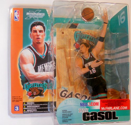 McFarlane Sportspicks: NBA Series 3 Pau Gasol Action Figure