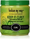 Texture My Way Keep It Curly Ultra Defining Curl Pudding 15oz