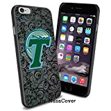 (Available for iPhone 4,4s,5,5s,6,6Plus) NCAA University sport Tulane Green Wave , Cool iPhone 4 5 or 6 Smartphone Case Cover Collector iPhone TPU Rubber Case Black [By Lucky9Cover] Reviews