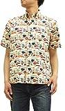 (サンサーフ) Sun Surf コットンアロハシャツ SS36991 東洋エンタープライズ メンズ 半袖シャツ #133ベージュ (L)