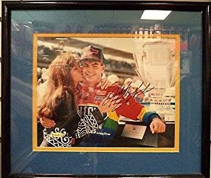 Jeff Gordon Autographed Picture - Legend Uda Coa 8x10 Matted Framed - Autographed... by Sports Memorabilia
