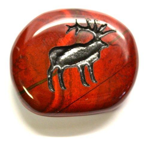 elk-crystal-gem-palm-animal-totem-charm-stone-by-mystery-mountain