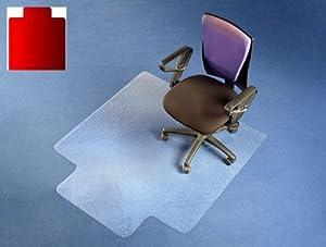 FloordirektPRO Office Chair Mat 90x120cm 100 Polycarbonate With Lip Ca