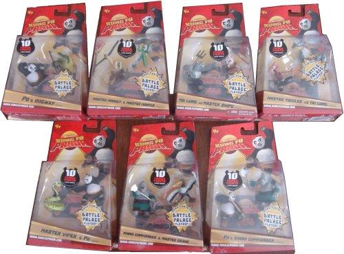 Picture of Mattel 7 Kung Fu Panda Figures (B001ZFCHT6) (Mattel Action Figures)