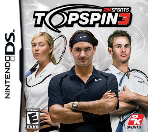 Top Spin 3 - Nintendo DS (Stage Makeup Melbourne)