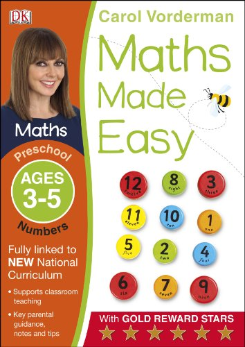 Maths Made Easy Numbers Preschool Ages 3-5 (Carol Vorderman's Maths Made Easy)