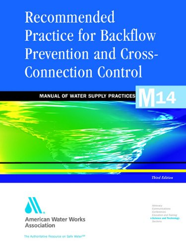 Download recommended practice for backflow prevention and
