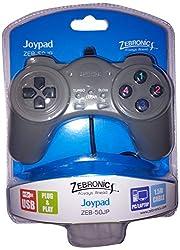 Zebronic ZEB-50JP USB JOYPAD GAMING CONTROLLERS Black