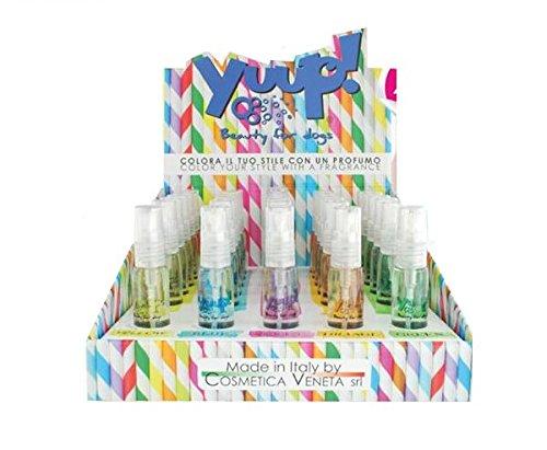 Yuup Profumo 'Colora il tuo stile' - Profumo spray per cani e gatti, in diverse fragranze (Violet)