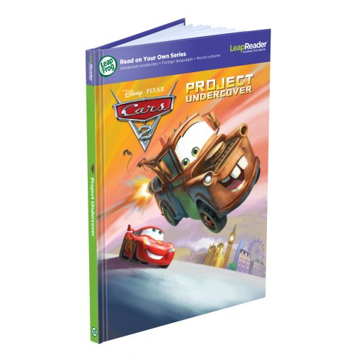 LeapFrog LeapReader Book: Disney/Pixar Cars 2: Project Undercover (works with Tag)