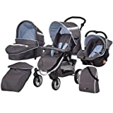 Hauck Apollo 11 All In One Travel System Sky