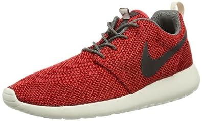 Nike Roshe Run - University Red / Velvet Brown-Light Orwd Black, 8 D US