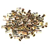 ZFE Mixed Pack Threaded Rivet Nut Inserts M4.M5. M6. M8.each 25pcs Total Pack of 100Pcs