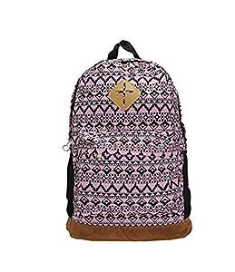 Retro Canvas Women Men Backpack Rucksack Satchel Shoulder Travel Gym Bag Schoolbag