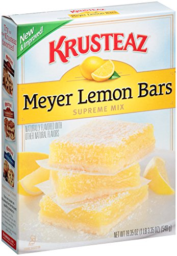 Krusteaz Lemon Bars Supreme Mix, 19.35-Ounce Boxes (Pack of 12) (Lemon Waffle Mix compare prices)