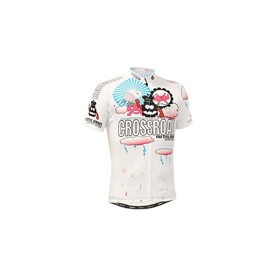 Fixgear Cycling Jersey White Short Sleeves Custom Road Bike Clothes Cs 2902  131 Size S  3234a9f0a