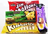 Irish Biscuit Pack - Orignal Kimberley Biscuits, Chocolate Kimberleys, Jam Mallows & Irish Shortbread