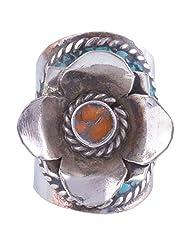 Tibet Jewelry,Coral Ring,Tibetan Jewelry,Ring - B00LB06JA8
