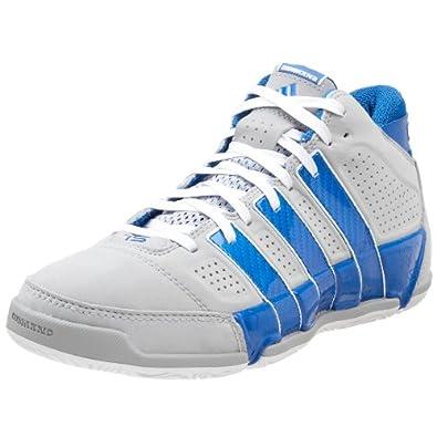 adidas Men's TS Commander LT Dwight Howard Basketball Shoe,Light Onyx/Blue/White,11.5 D US