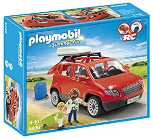 playmobil 5436 figurine voiture avec coffre de toit. Black Bedroom Furniture Sets. Home Design Ideas