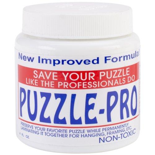 Petaloo Pro Jigsaw Puzzle Glue, 4-Ounce, - 1
