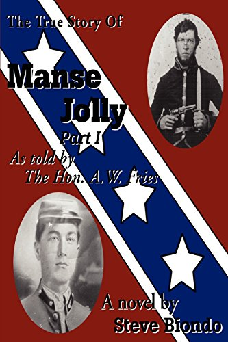 The True Story Of Manse Jolly Part I: As Told By The Hon. A.W. Fries