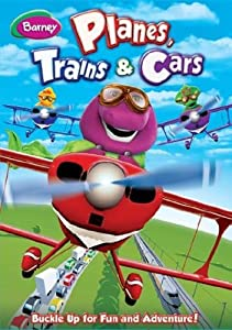 Barney - Planes, Trains & Cars [DVD]