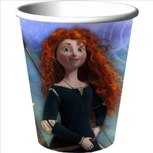 Disney Brave 9oz Cups : package of 8