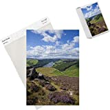 Photo Jigsaw Puzzle of Derwent Edge, Ladybower Reservoir, and purple heather moorland in foreground from Robert Harding