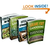 Gardening Super Combo: Four Different Gardening Guides: 1) Square Foot Gardening  2) Straw Bale Gardening  3) Vertical Gardening  4) Permaculture Gardening ... homesteading, homesteading, Mini Farming)